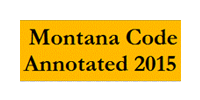 Montana Code Annotated